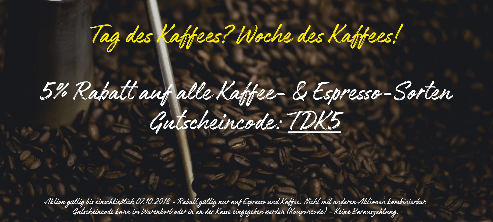 Tag des Kaffees 2018 bei SlowCoffee.de