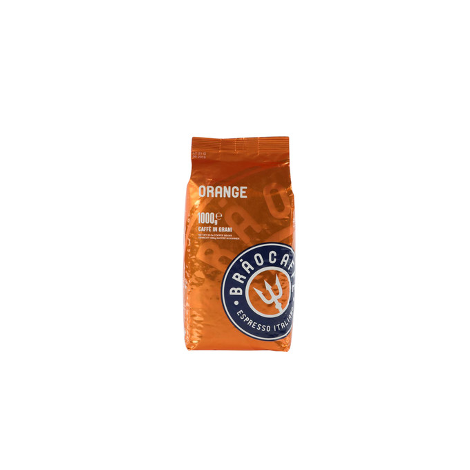 Brao Caffé ORANGE, 1 kg, ganze Bohne